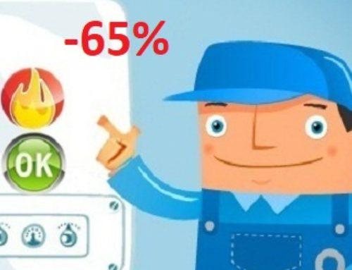 ECOBONUS 65% PER CALDAIE A CONDENSAZIONE CON VALVOLE TERMOSTATICHE